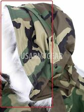 Fur Ruff Attachment for Hood of Cold Weather ECWCS Woodland Goretex Parka Jacket