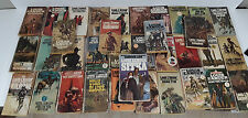 Lot of 34  LOUIS L'AMOUR Western, Historical, Frontier paperbacks Heavy Use