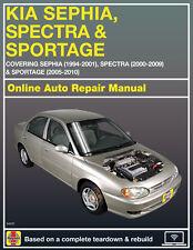 2005 Kia Spectra5 Haynes Online Repair Manual-14 Day Access