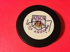 Wayne Gretzky Kings HOF Signed Puck Auto PSA/DNA LOA Letter COA
