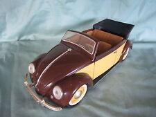 AC578 SOLIDO HACHETTE VW COCCINELLE CABRIOLET 1949 1/18 VOITURES PRESTIGE FASCIC