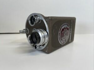 Early Vintage Bell & Howell Filmo Auto Master 16MM Camera  & Lenses