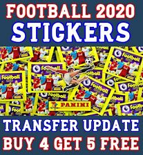 PANINI FOOTBALL 2020 STICKERS UPDATE SET TRANSFERS NEW PLAYERS ROOKIES etc