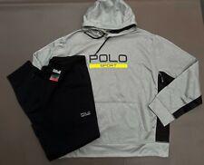 Polo Ralph Lauren Men XXL Polo Sport Tracksuit Track Pants Jacket Sweat Suit NEW