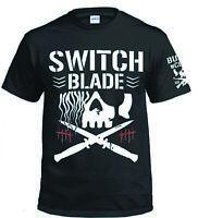 NJPW Club AEW Elite XS-XXXL MARTY SCURLL Long Live the Villain Gold T-shirt