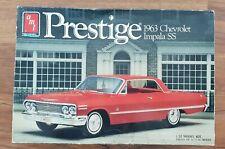 AMT 1963 Chevrolet Impala SS 1/25 Prestige
