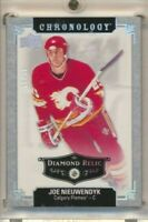 2018-19 Chronology Diamond Relic 47 Joe Nieuwendyk /36 Calgary Flames