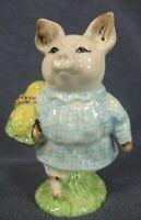 "Royal Albert Beatrix Potter Little Pig Robinson Figurine BP-6 England 3 1/2"""