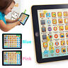 Baby Tablet Educational Toys Kids For 1-6Years Toddler Learning English Gift W6H