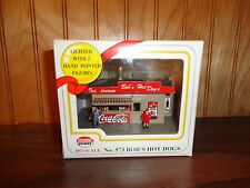 Ho Scale Trains Model Power Bob's Hot Dogs New in Box Coca-Cola Figures Building