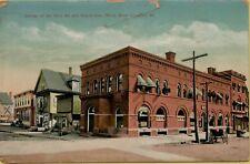 1911 Dirt Road South Main Street View White River Junction VT Postcard C34