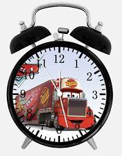 "Disney Cars Mack Alarm Desk Clock 3.75"" Home or Office Decor Z161 Nice For Gift"
