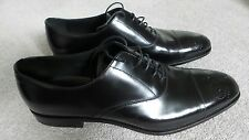 PRADA MEN'S FORMAL SHOES - BLACK - LACED / LACE UP (UK11, US12)