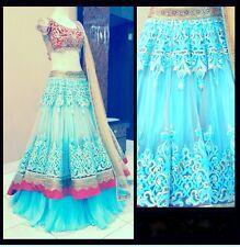 Veeraa Lengha Exclusive Beautiful Designr Bollywood Indian Ethnic  Partywear 507
