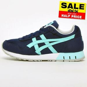 Asics Tiger Curreo Womens  Retro Running Shoes Gym Fitness Workout Trainers