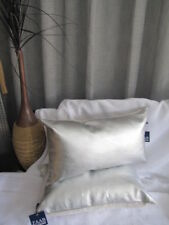 Beautiful  ZAAB Homewares ERSKINE Silver 30cm x 50cm Cushion Cover