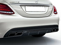 Mercedes W205 S205 C Class AMG C63 Rear Diffuser AND Night Tailpipe Package
