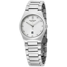 Victorinox Swiss Army Victoria Silver Dial Stainless Steel Ladies Watch 241635