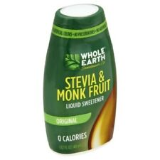 Whole Earth Stevia & Monk Fruit Original Liquid Sweetener