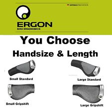 Ergon GP1-Small or Large/ Standard Grip or GripShift Length MT/Hybrid Bike GP1-L