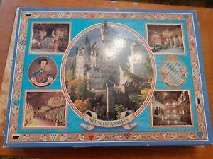 MB Magnum 2000 Piece Huge Jigsaw Puzzle Vintage Neuschwanstein