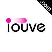 IOUVE.com Catchy Short Website Name Brandable Premium Domain Name for Sale
