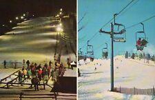 Mount Southington Ski Area Connecticut Vernon Avenue Interstate 84 CT - Postcard
