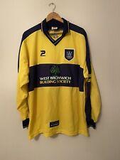 1999-01 Long Sleeved West Bromwich Albion Away Shirt - XXL