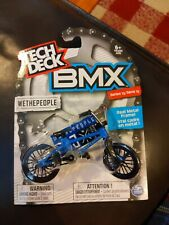"TECH DECK BMX ""WETHEPEOPLE"" BLUE METAL FRAME SERIES 13"