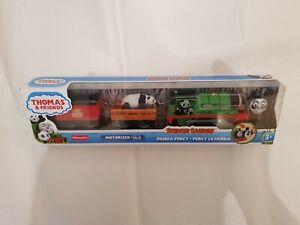 Thomas & Friends SODOR SAFARI PANDA PERCY MOTORIZED / REVOLUTION TRACKMASTER NEW