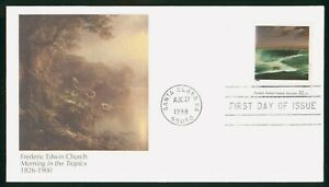 Mayfairstamps US FDC 1998 Frederic Edwin Church Painting First Day Cover wwp_535