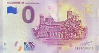 BILLET 0  EURO HILDESHEIM ALLEMAGNE  2019  N° PALINDROME 313
