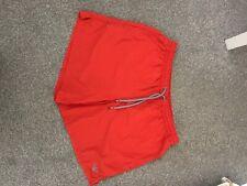 emporio armani mens swim shorts red medium