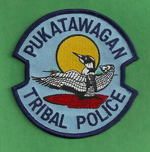 PUKATAWAGAN CANADA TRIBAL POLICE SHOULDER PATCH