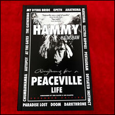 'PEACEVILLE Life' paperback*SIGNED* [Opeth, Darkthrone, Autopsy]
