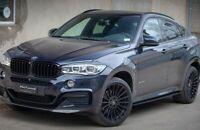 FOR BMW  X6 F16 / F86 M Sport HEADLIGHTS  Gloss Eyebrows