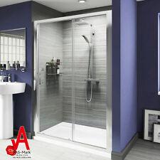 1200x1900mm Sliding Shower Screen Enclosure Door Framed Wall to Wall