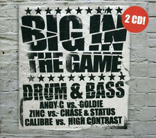 BIG IN THE GAME = Goldie/Calibre/Zinc/Andy C/Chase...=2CD= DRUM & BASS JUNGLE !