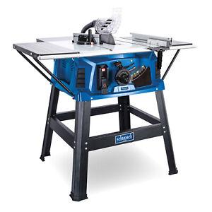 scheppach Tischkreissäge HS111 + Untergestell & Tischverbreiterung 2200W 254 mm