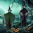 2 HANGING Witch Skeleton Scary Props 41 Halloween Decorations Outdoor Yard Decor