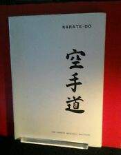 125.00 OFF!RARE  KARATE DO 1971 MARTIAL ARTS PICTORIAL-TANI KARATE RESEARCH INST