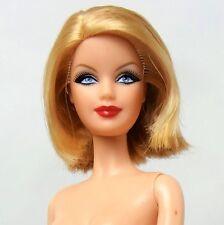 Barbie Model Muse Blonde Smokey eyes Mackie Face Nude