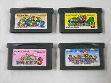 U2591 Nintendo Gameboy Advance Super Mario Advance 1 2 3 4 set GBA Japan