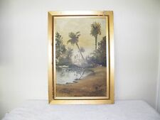 John Barber (1898-1965) Art Oil On Board - Signed And Dated 1930 Painting