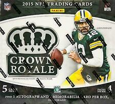 2015 Panini Crown Royale Football NFL 2 Hits (1 Auto - 1 Relic) Rawls?