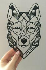 Animal lobo Geométrico Decoración Para Colgar En Pared Arte Para Decoración De Estilo Origami