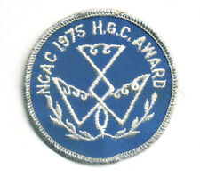 NCAC 1975 H.G.C. Award Boy Scout Patch