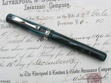 "VISCONTI VOYAGER ""DEEP GREEN"" FOUNTAIN PEN - STUNNING PEN - WOW LOOOOK"