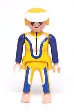 Playmobil Figure Boat Water Skier Woman w/ Wetsuit Visor Blonde Hair 3009