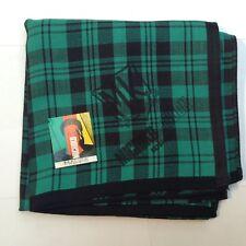 Neuf avec étiquettes MICHIKO LONDON Carreaux/Écossais Coton Mouchoir